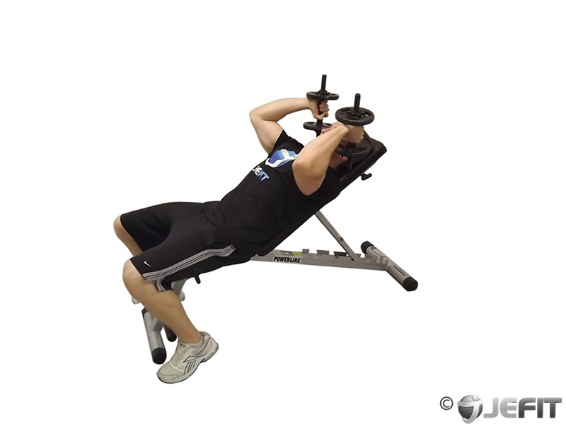 incline tricep extension - photo #1