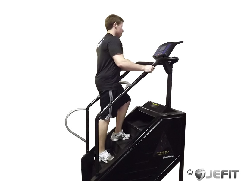 fitness step machine