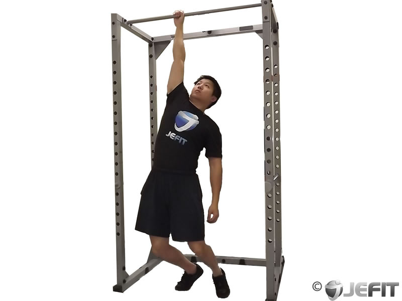 hanging back stretch machine