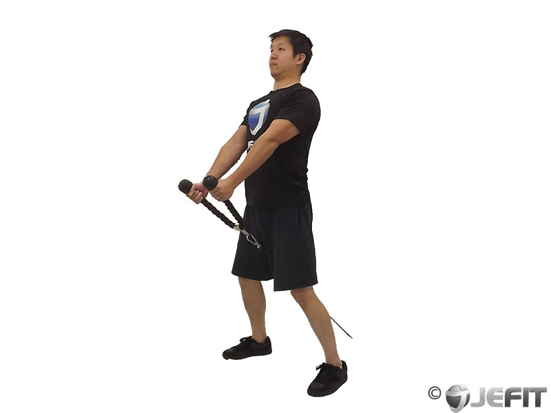 Cable Pull Through Exercise Database Jefit Best