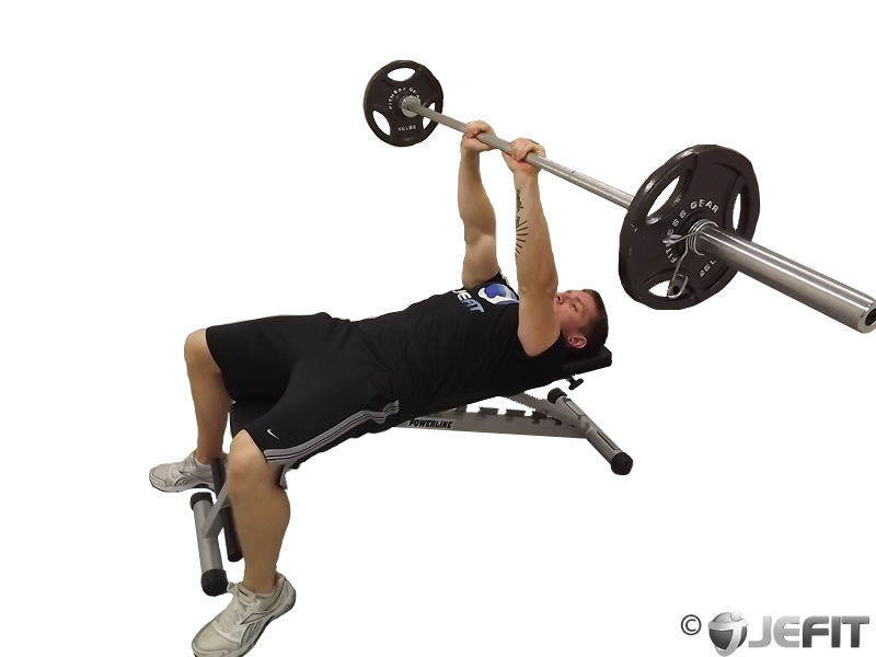 Barbell Close Grip Bench Press