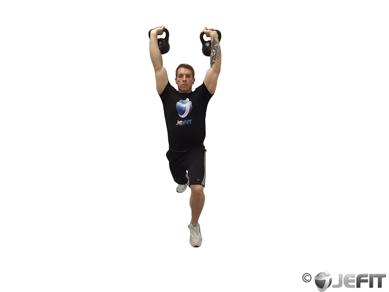 Double Kettlebell Jerk
