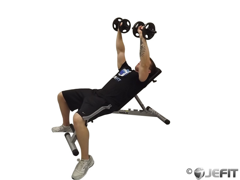 Double Incline Shoulder Raise