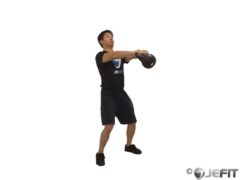 Open Palm Kettlebell Clean