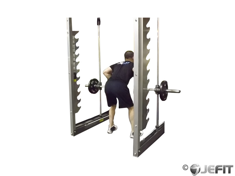 Smith Machine Rear Delt Row