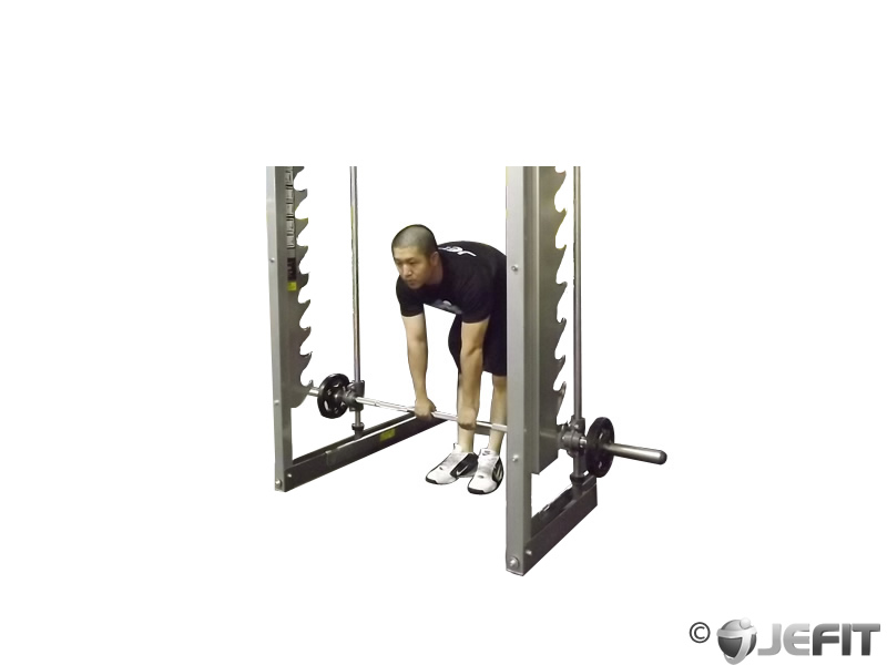 Smith Machine Stiff Legged Deadlift