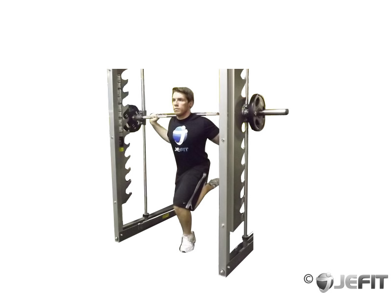 smith machine split squat