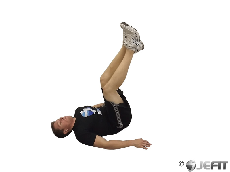 Jackknife Sit up - Exercise Database | Jefit - Best ...