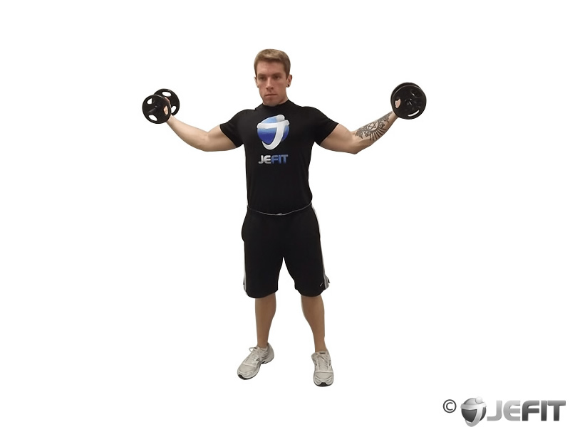 Dumbbell High Curl
