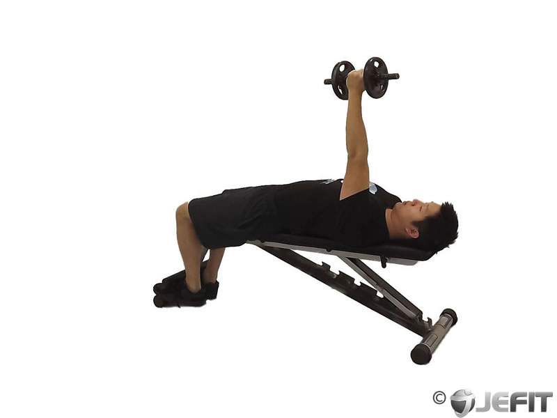 Dumbbell One Arm Hammer Press