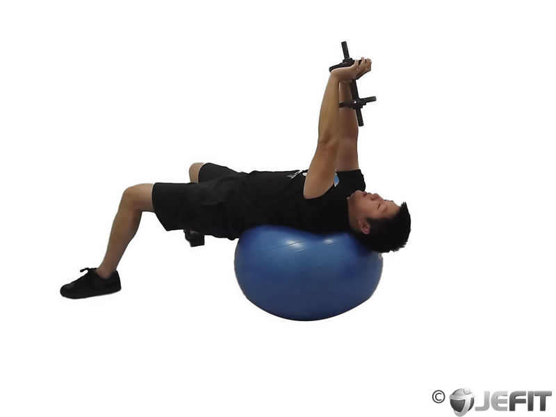 Pullover on Exercise Ball