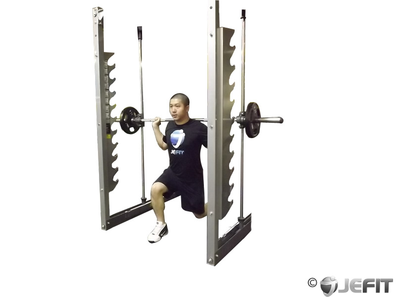Smith Machine Lunge