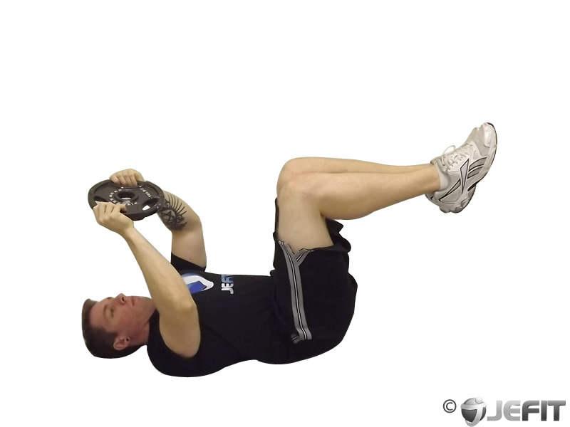 Weighted Crunches Exercise Database Jefit Best