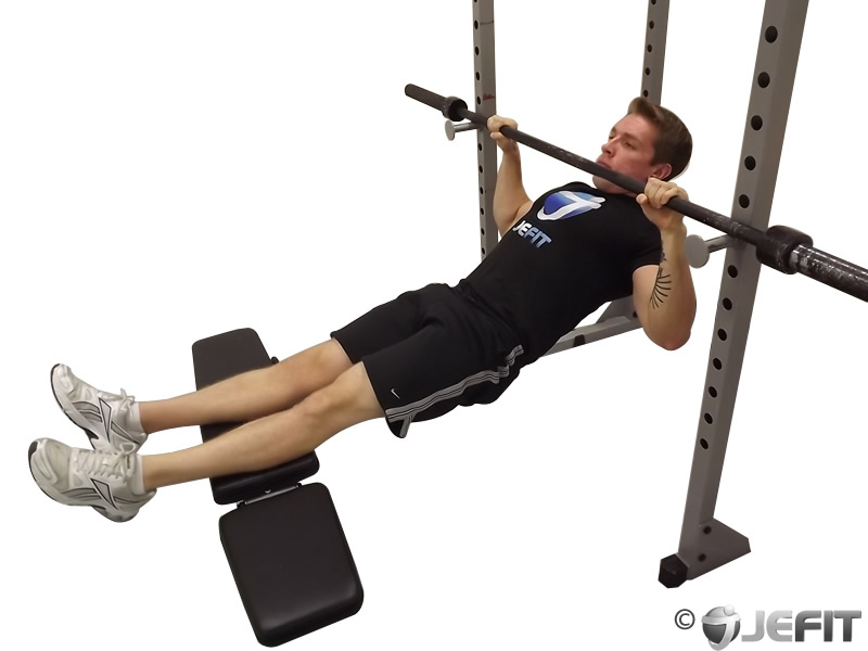 Inverted Row Inverted row  click to enlargeInverted Row Muscles