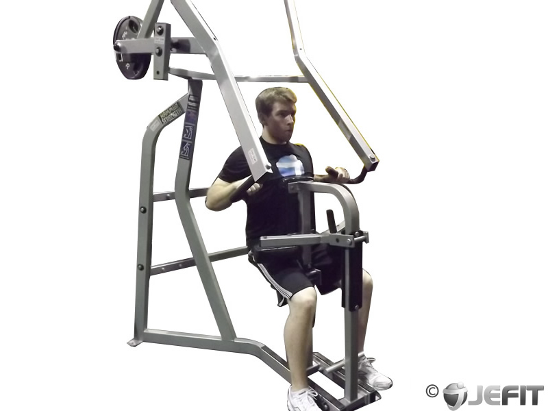 Leverage Machine High Row - Exercise Database | Jefit - Best Android ...
