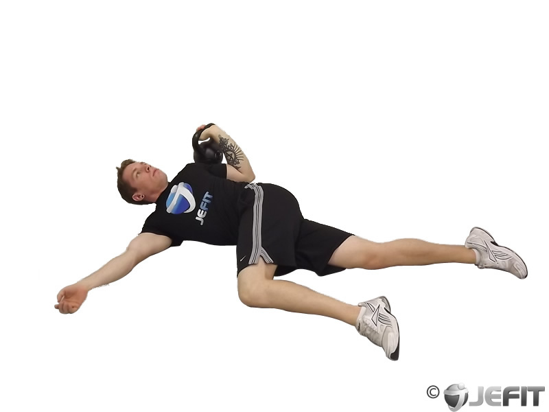 Leg over floor press exercise database jefit best for Floor workout