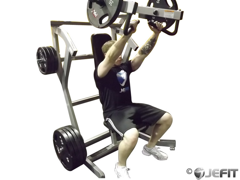 Leverage Incline Chest Press - Exercise Database | Jefit ...