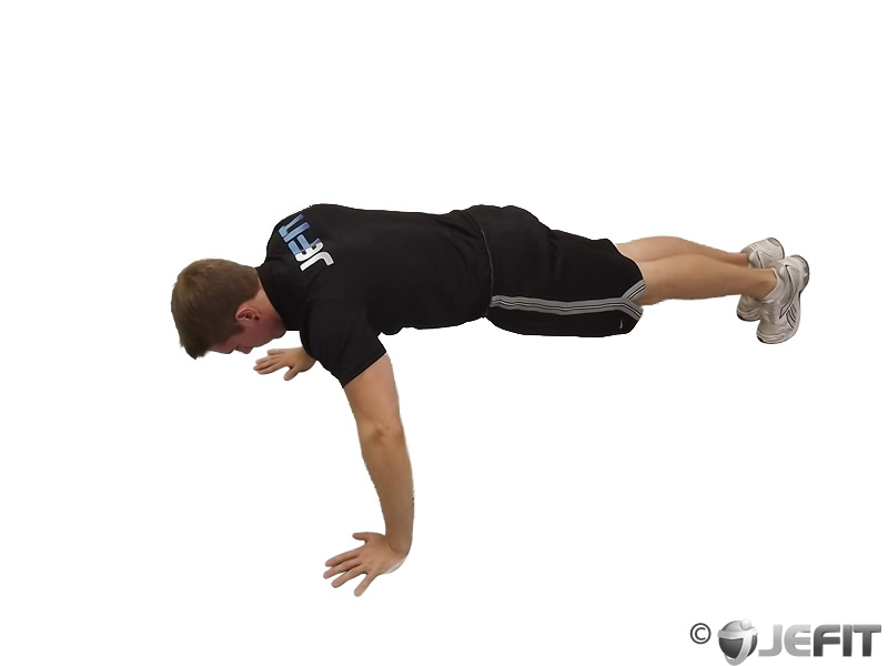 Wide Hand Pushup