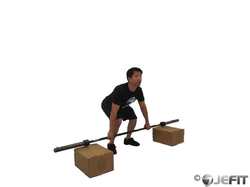 Power Snatch from Blocks