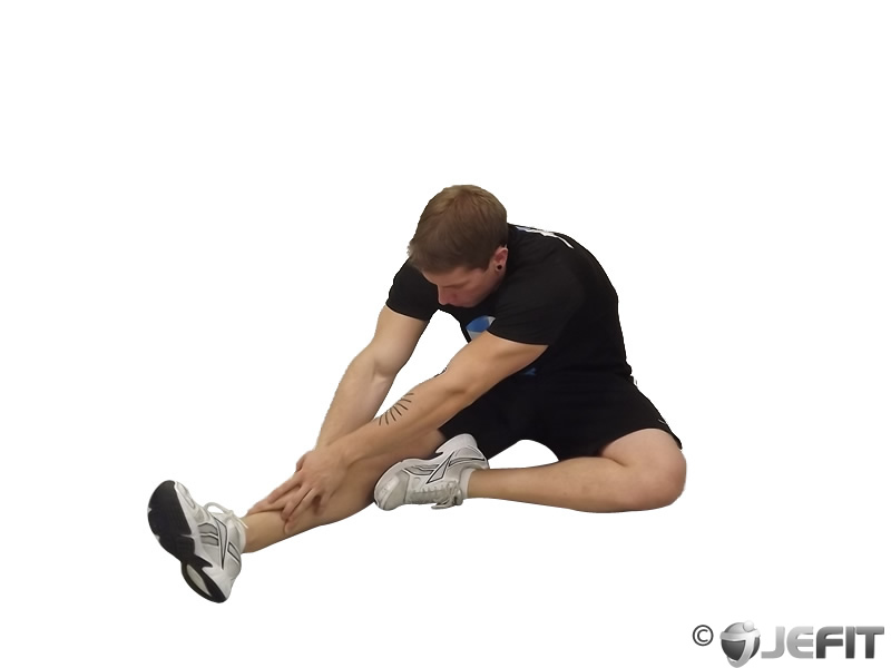 Seated Floor Hamstring Stretch - Exercise Database | Jefit ...