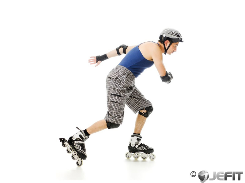 Inline Skating Exercise Database Jefit Best Android