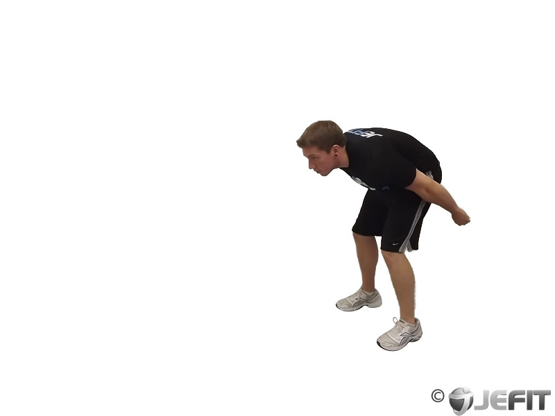 standing long jump - exercise database