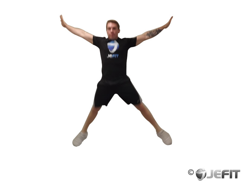 Star Jump - Exercise Database | Jefit - Best Android and ...