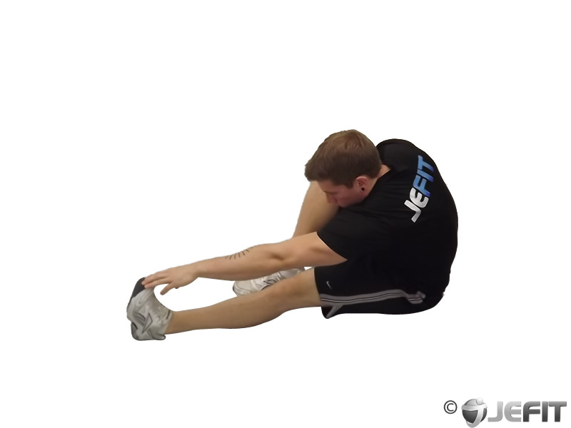 Seated Calf Stretch Exercise Database Jefit Best