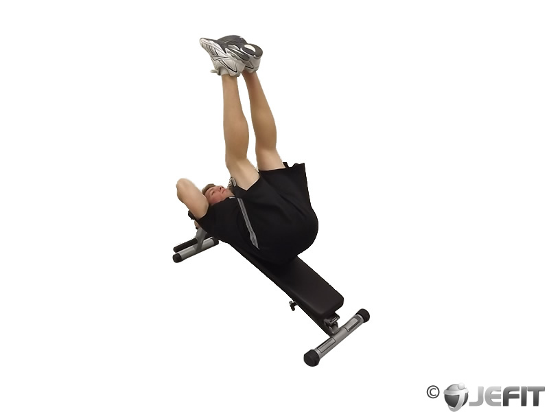 Decline Bench Leg Raise Exercise Database Jefit Best