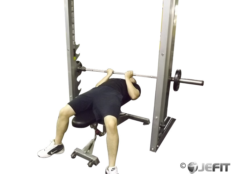 smith machine presses