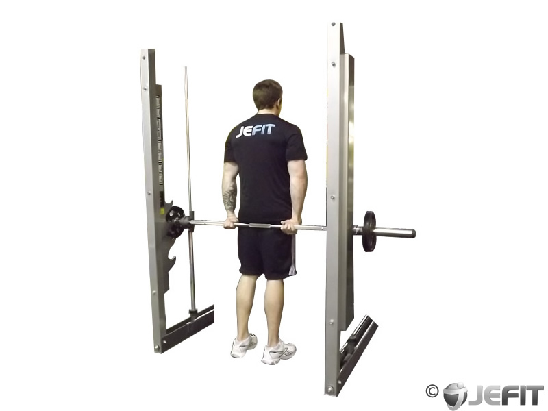smith machine back workout