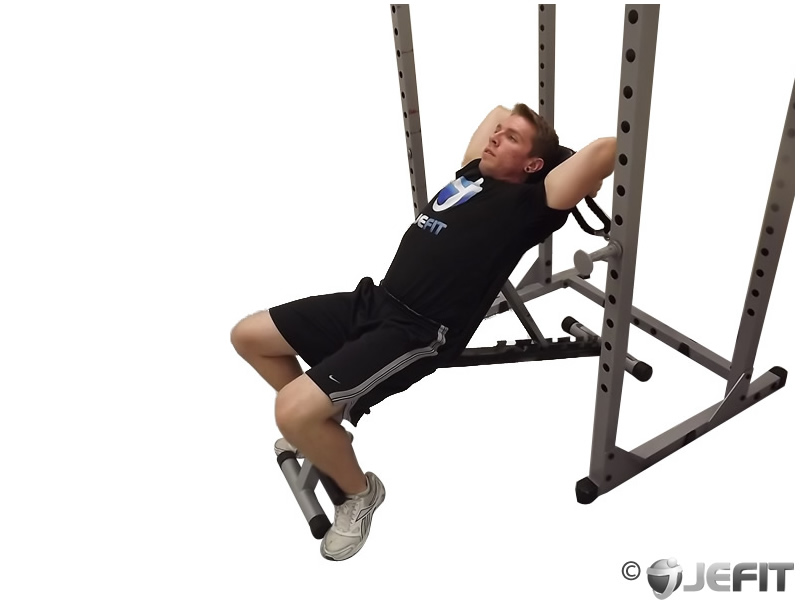 Incline Cable Tricep Extension