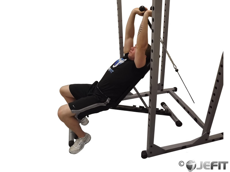 tricep extension cable machine