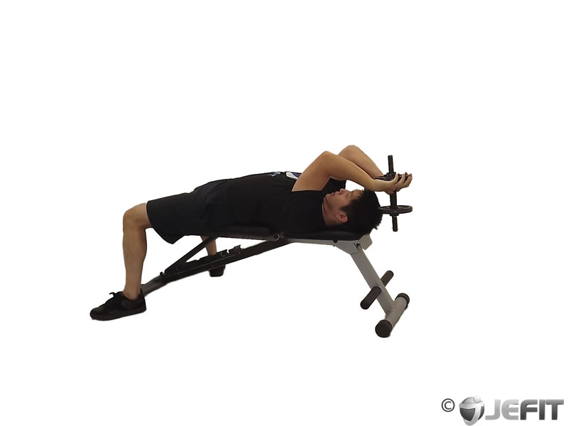 Lying Tricep Extension Machine Lying Tricep Extension
