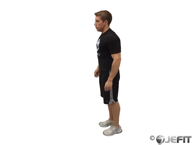 Bodyweight Standing Calf Raise