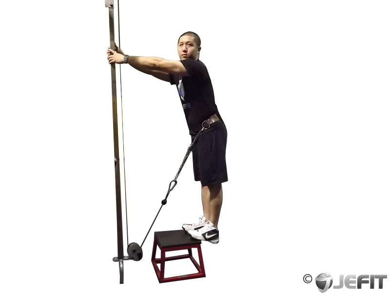 Cable Calf Raise