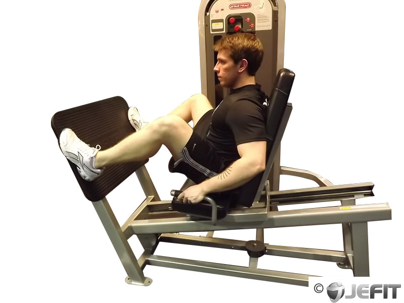 Leg Press Machine With Wide Stance - Exercise Database ...
