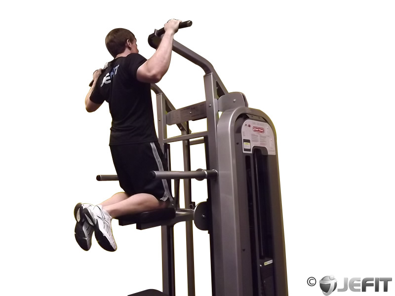 assisted pullup machine weight