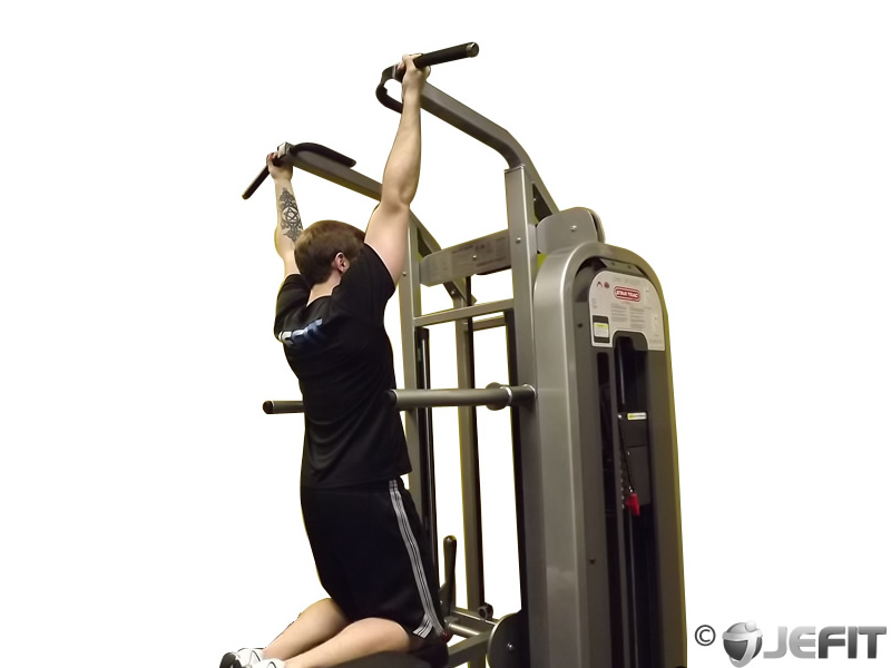 Machine Assisted Chin Up Exercise Database Jefit