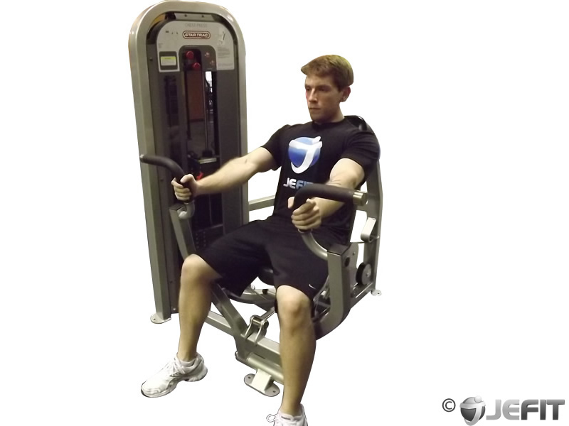 chest workout cable machine