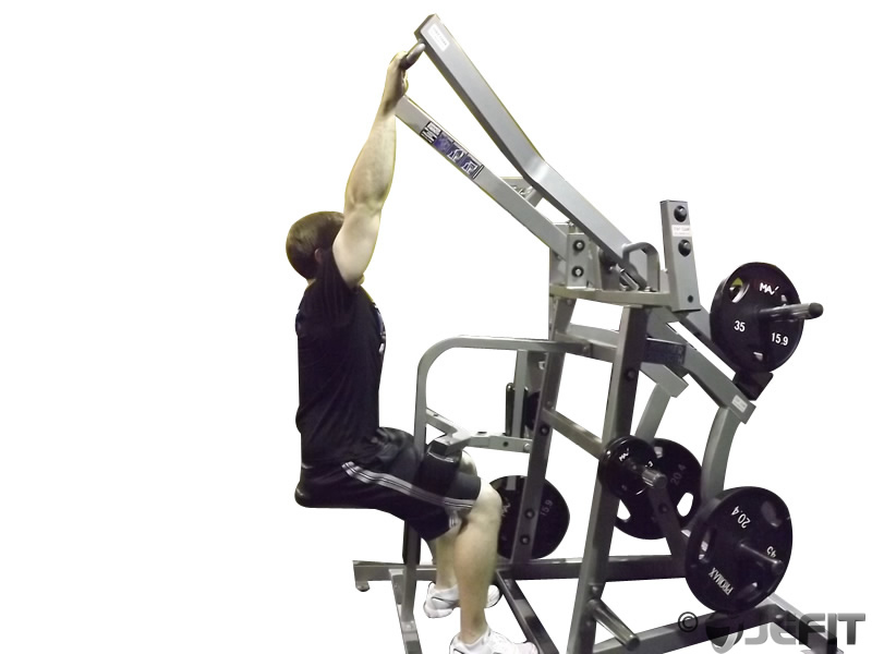 Iso Lateral Wide Pulldown