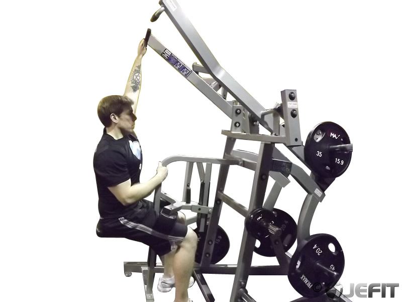 One Arm Iso Lateral Wide Pulldown