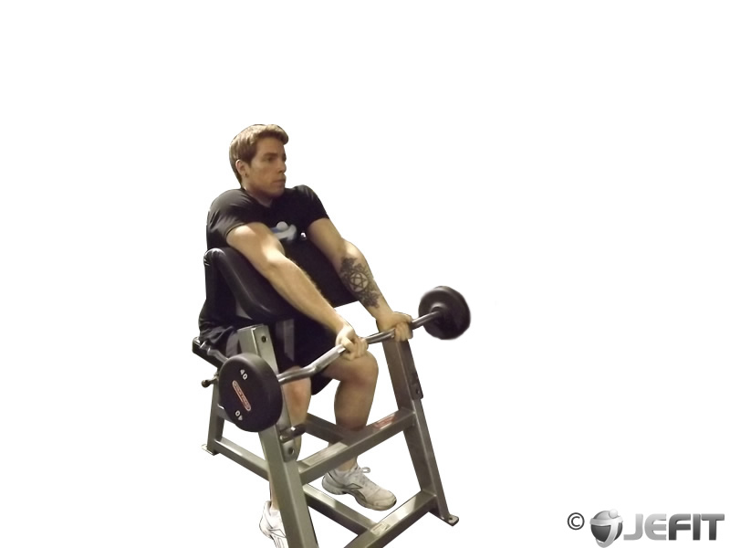 Close Grip Preacher Curl