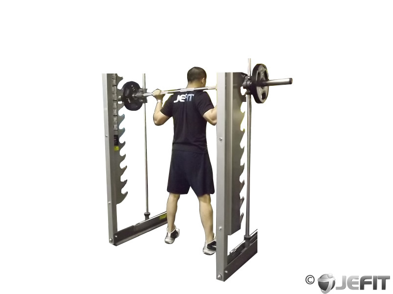 sitting squat machine