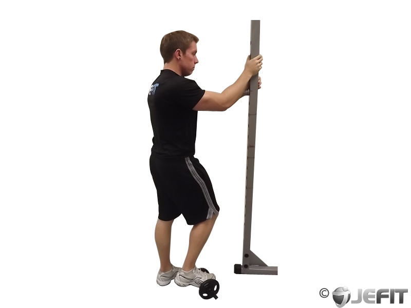Calf Raise On A Dumbbell