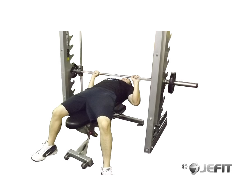 Machine Press Workout Smith Machine Bench Press