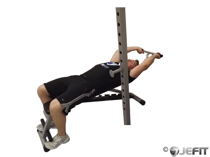 Cable Lying Triceps Extension - Exercise Database | Jefit ...
