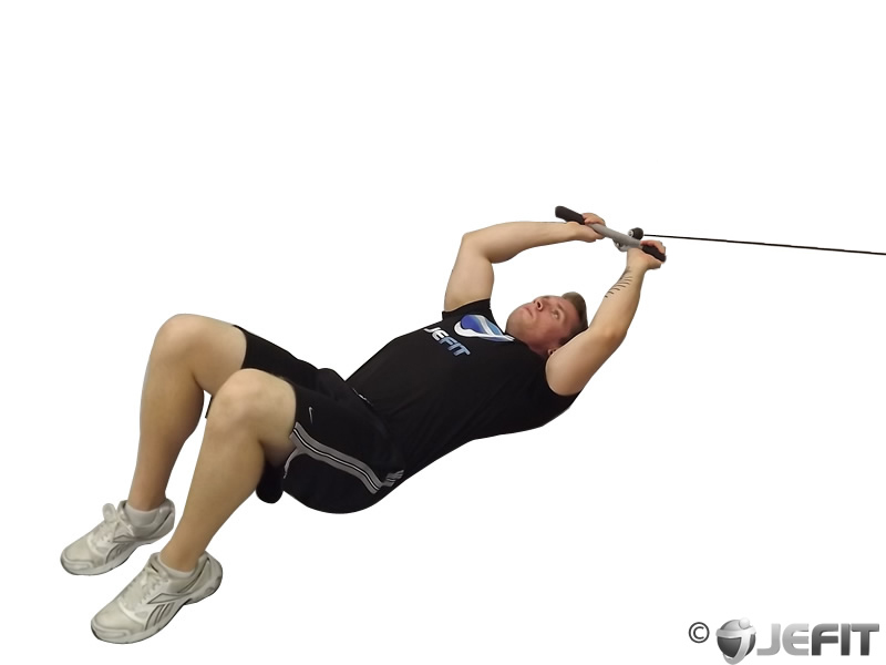 Cable Extension Exercise : Cable low triceps extension exercise database jefit