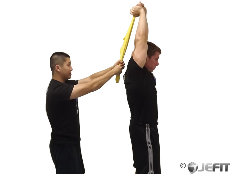 Tricep Extension Dumbbell Standing Standing Triceps Extension
