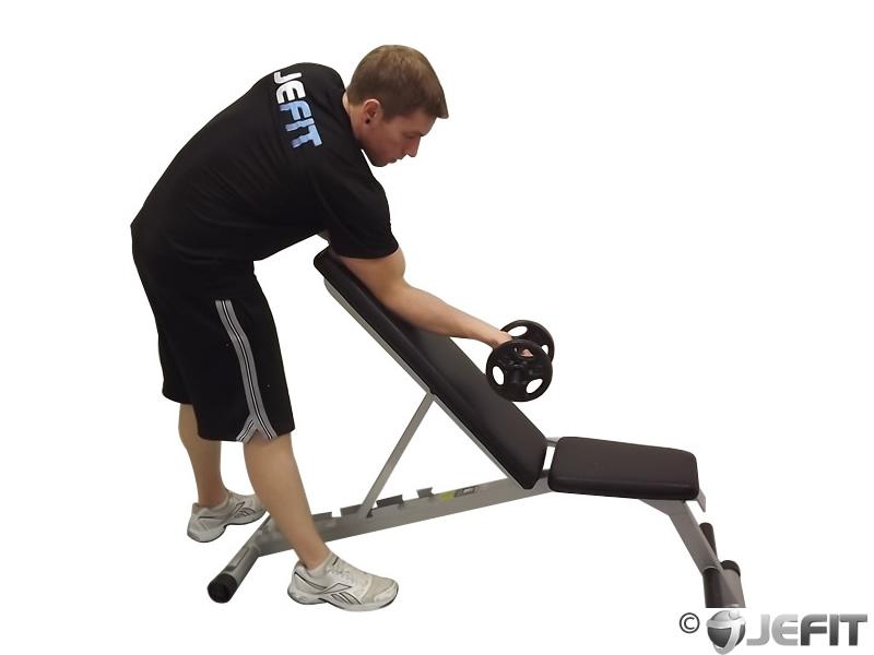 Dumbbell One Arm Zottman Preacher Curl - Exercise Database